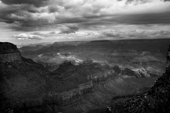 grand canyon b&w copy